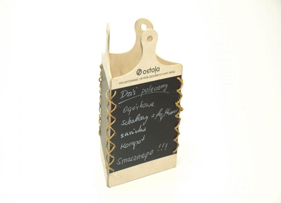 Karty Menu > Deska Menu na Stół Marker